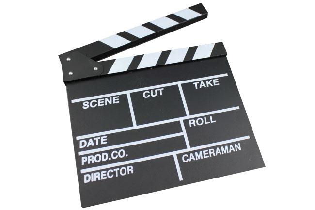 filmová klapka veľká, ELEMENTRIX (KLAP2)