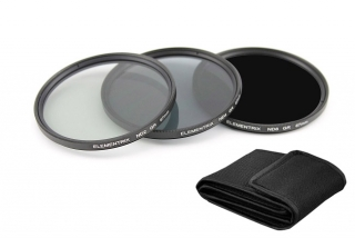 Elementrix ND8, ND4, ND2 set filtrov 55mm