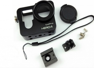 GoPro hero 3+/4 housing, case, hliník ELEMENTRIX
